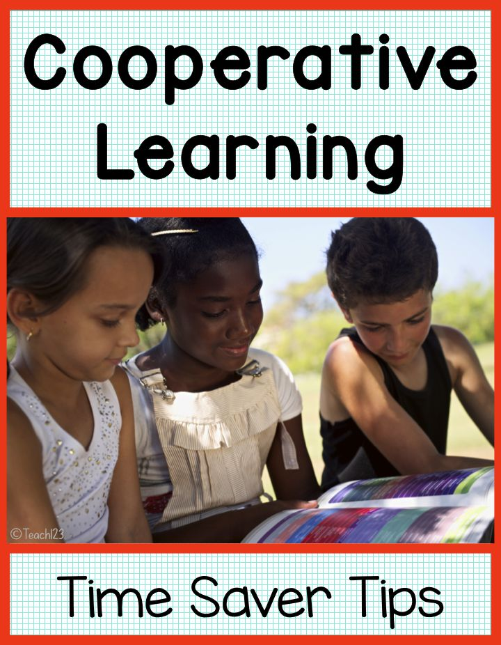 Cooperative Groups - ideas to help when you plan cooperative learning lessons plus FREE printable.