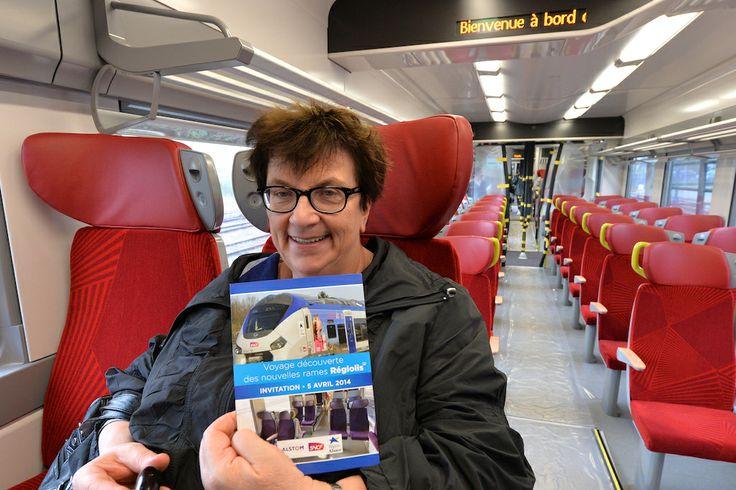 Voyage officiel du TER Régiolis avant sa mise en service commercial © Stadler / Région Alsace