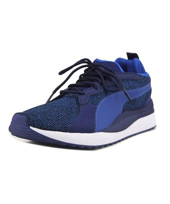 PUMA PUMA PACER NEXT TW KNIT MEN ROUND TOE SYNTHETIC BLUE SNEAKERS.  puma   shoes   a14792948