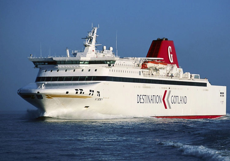 The Ferry to Gotland