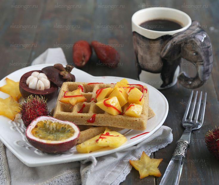 Диетические овсяные вафли | Рецепты правильного питания - Эстер Слезингер