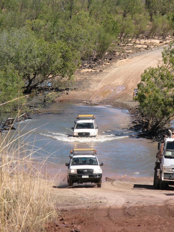 Gibb River Road Durack river crossing