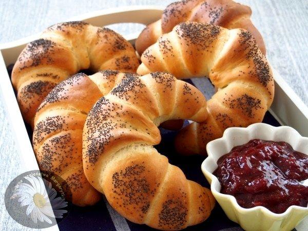 Kulinarne szaleństwa Margarytki: Rogaliki śniadaniowe mleczno – maślane