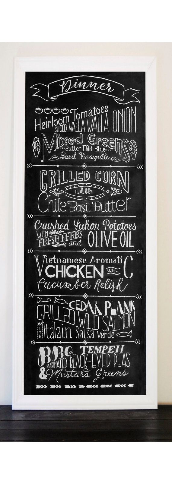 best 25+ menu chalkboard ideas on pinterest | chalk menu, chalk