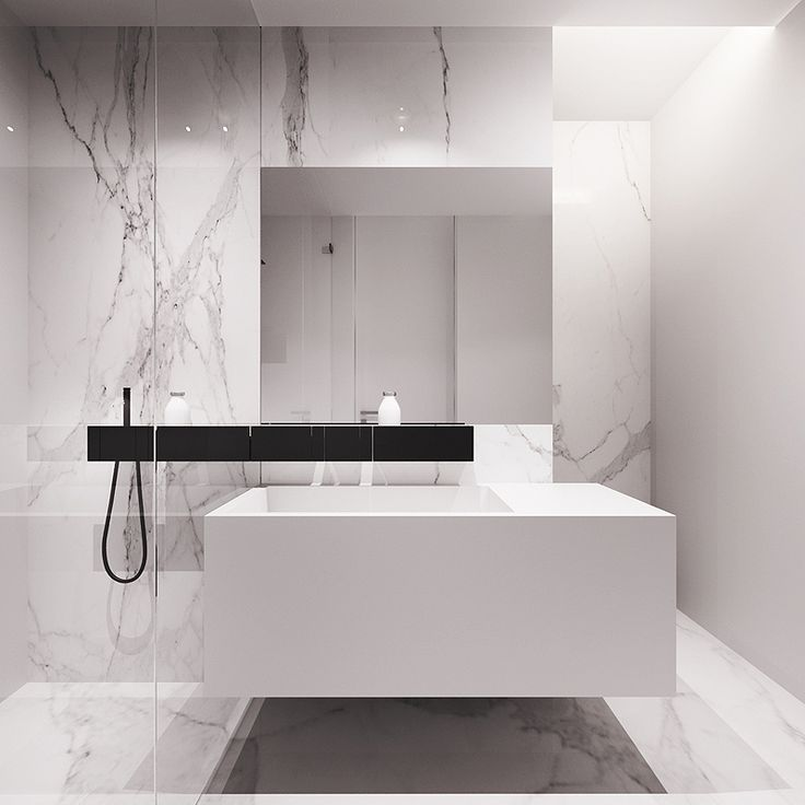 Tamizo Architects | bathroom - marbre / salle de bains - marbre
