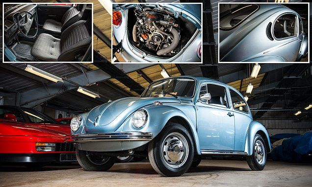 1974 VW Beetle with just 56 miles to sell for DOUBLE original price