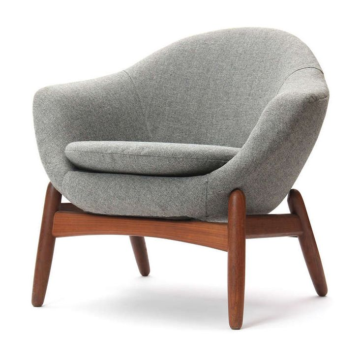 Ib Kofod-Larsen; Teak Lounge Chair, 1950s.