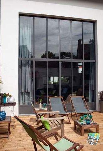 32 best Verrière atelier images on Pinterest Home ideas, Bay - maison avec toit en verre