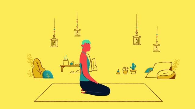 A series of GIFs for an article about yoga and its positive effects on sleep.   Directed by Wonderlust Music: Blue Bard Client: Huffington Post / Sleepnumber  For more information visit anchorpointanimation.com