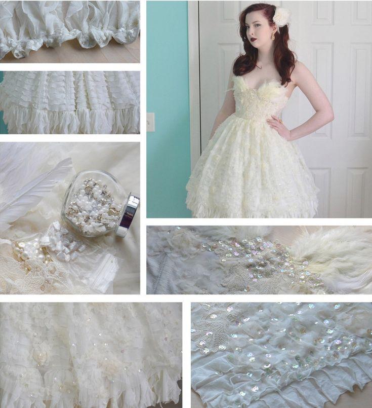 Una chica de18años hace vestidos tan increibles que noles puedes quitar los ojos deencima