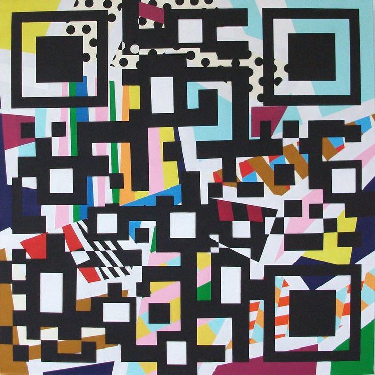 Where is the Centre of the Art World? Guillermo Aguilera-Huerta, #Code #QRCode #ContemporaryArt