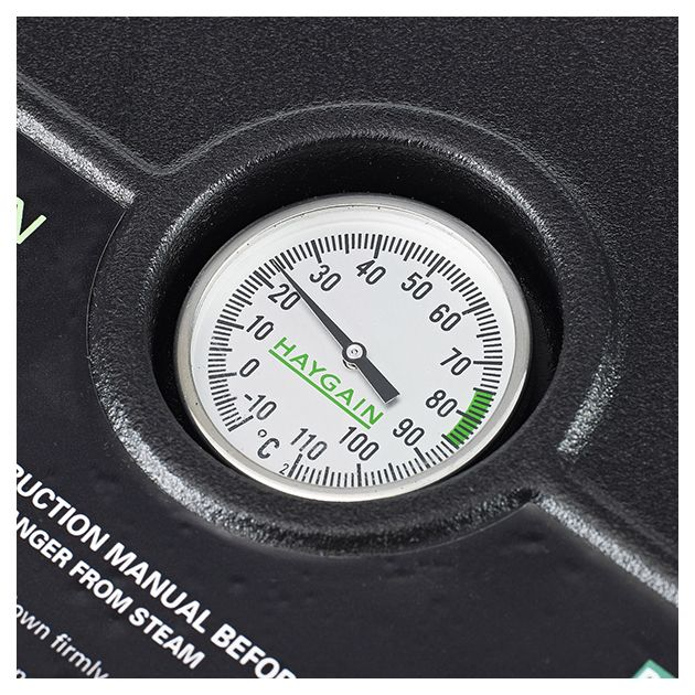 Hay steamer thermometer