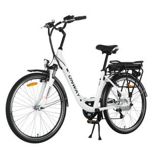 Onway 26 Inch 6 Speed Woman City Electric Bicycle Review