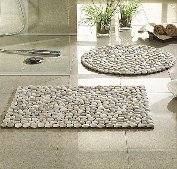 DIY Steinteppich oder -matte