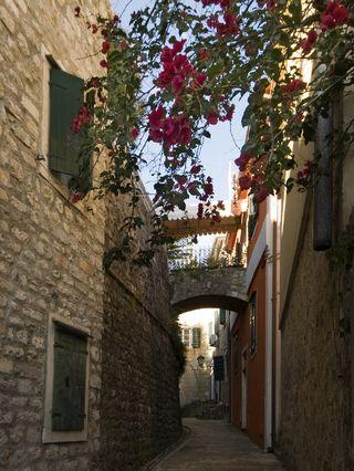 Herceg-Novi Old Town street