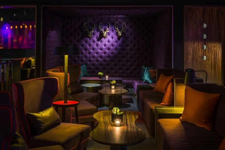 Frank Bar & Club by Mark Lintott Design at the top of the AT&T Building, Taipei – Taiwan » Retail Design Blog