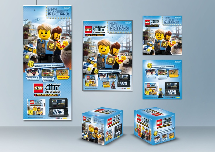POS Flight . LEGO City Undercover - The Chase Begins . Nintendo 3DS