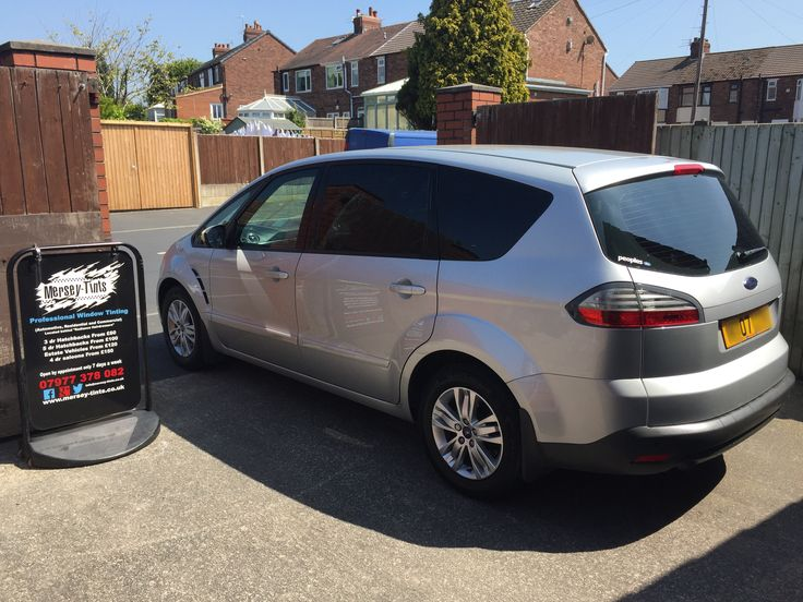 2007 Ford S-Max in this morning for 5% Carbon Limo Tints to the rear.