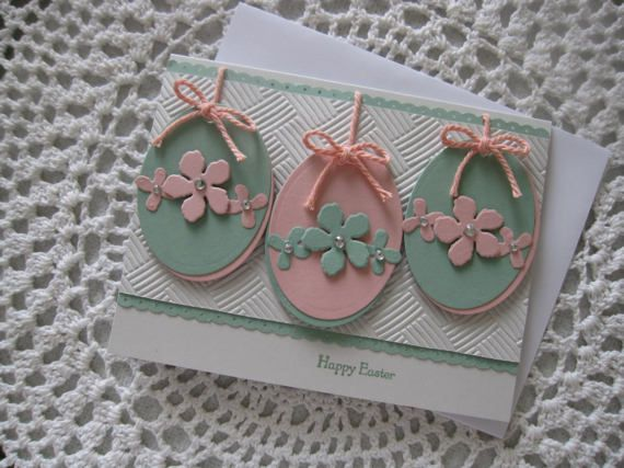Included is one handmade, hand stamped Easter themed greeting card. Designed using Stampin Up products, as well as some supplies from other companies. Please select at checkout your preference for the cards inside: Blank Sentiment 1: Wishing You an Easter filled with His Love Sentiment 2: The Miracle, the gift, the promise of a loving God.. Sentiment 3: May the miracle of Easter bring renewed hope and peace to your life. Sentiment 4: sending springtime smiles Sentiment 5: May each miracle…