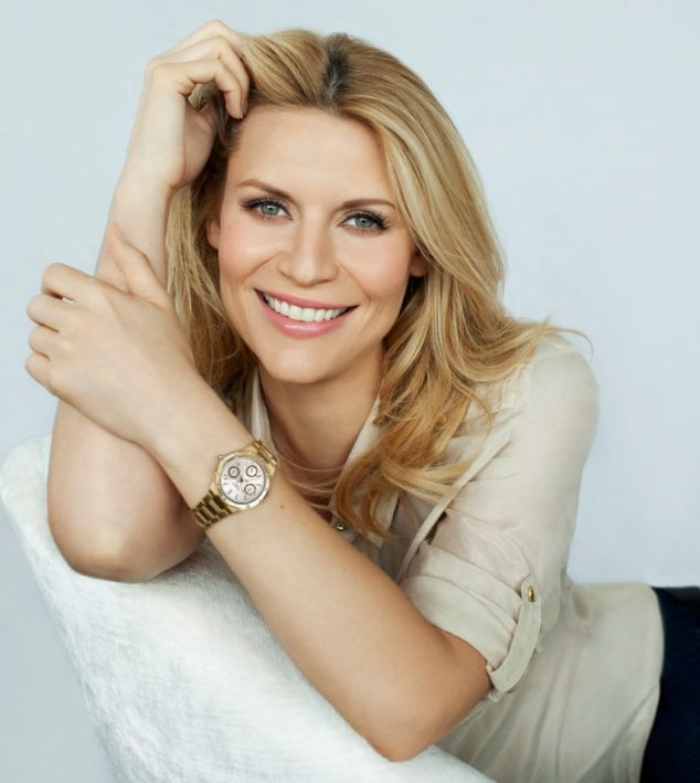 Claire Danes is the new face of Casio SHEEN  watches collection