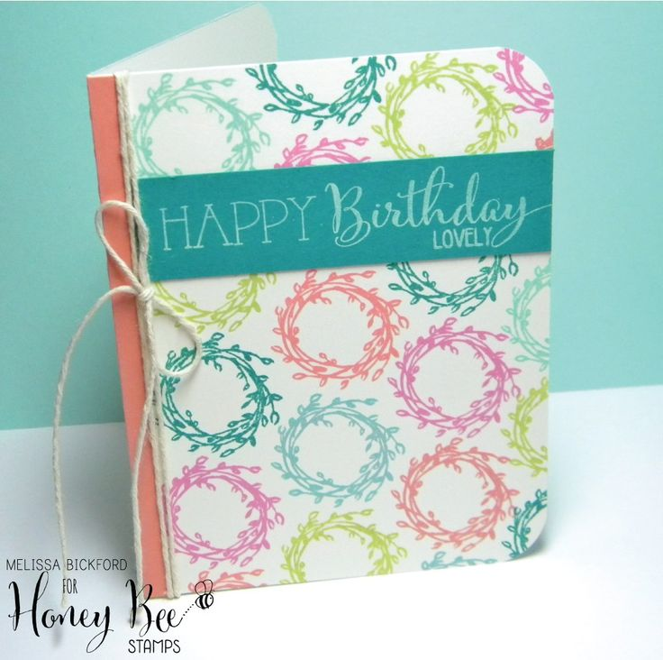Hi there, friends! Melissa B popping in to share a colorful birthday card with you. I used Not Too Shabby along with Happy Everything for my card today. I hope you enjoy…let's jump righ…