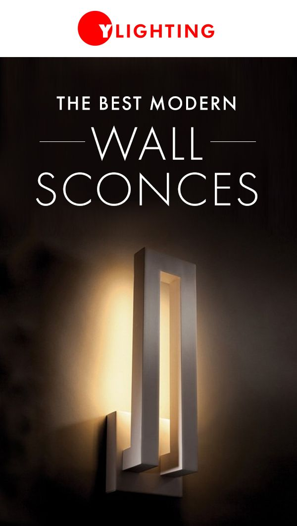 YLighting offers a large variety of wall sconces in shapes, sizes, materials and functions to meet your design and lighting needs. http://www.ylighting.com/category/Lighting/Wall-Lighting/_/N-16yx3
