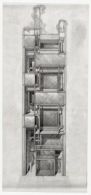Paul Marvin Rudolph   1989 - The Paul Rudolph and Ernst Wagner Townhouse, 246 East 58th Street, New York NY.   Became home of the Paul Rudolph Foundation