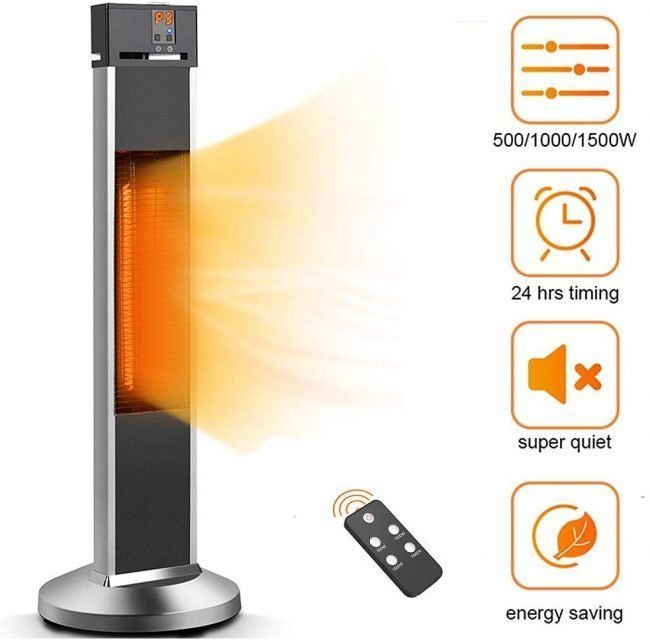 the best patio heater options for your
