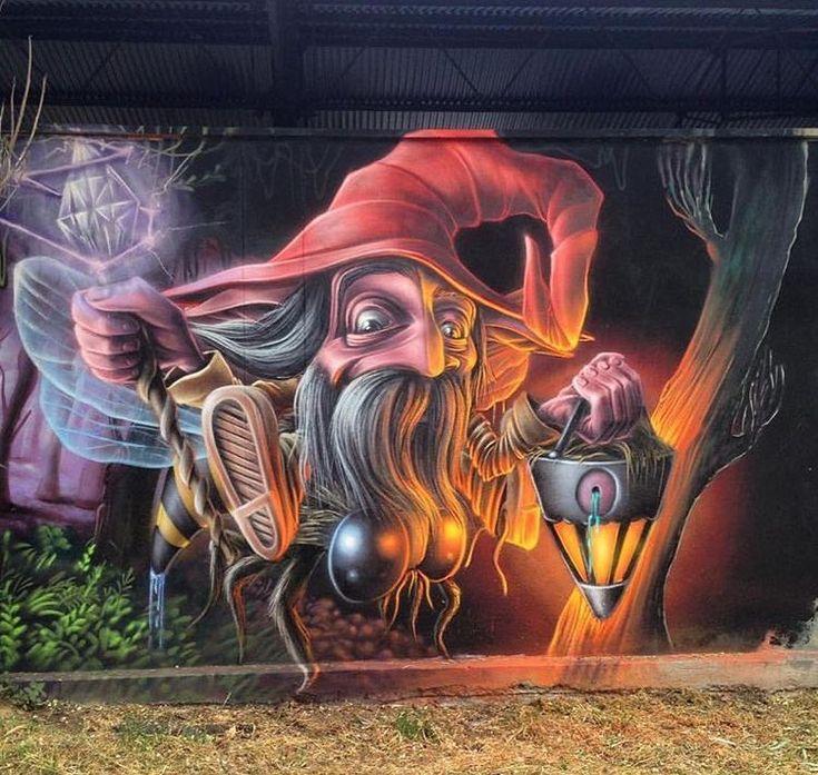 Nuovo pezzo dello street artist italiano Mr Blob a Milano.