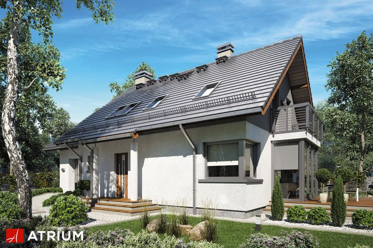 Projekt Sabina II - elewacja domu