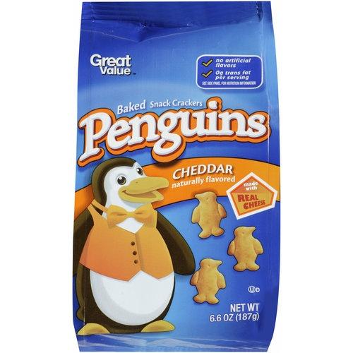 Penguin Cheddar Snacks