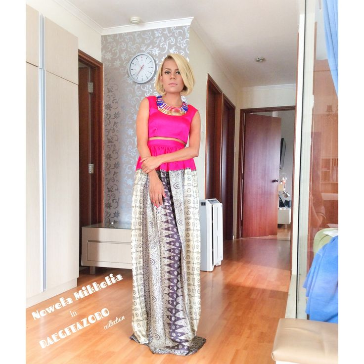 Nowela Mikhelia wearing RaegitaZoro collection - fitting