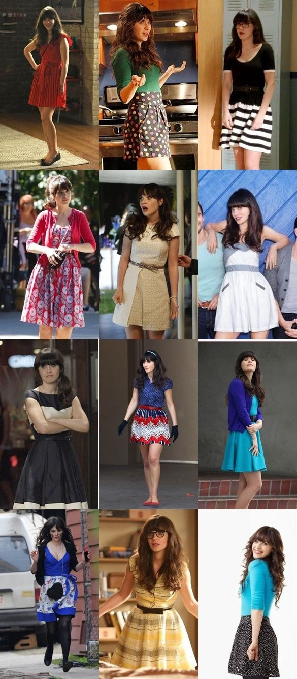 New Girl - Jess' Dorky Chic Style I seriously want this entire wardrobe