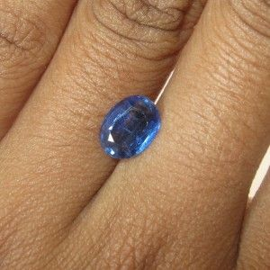 Oval Blue Kyanite 1.45 carat