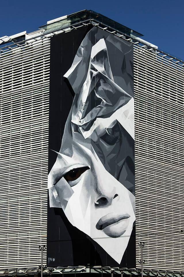 INO – New Mural on the Onassis Cultural Center, Athens, Greece Zippertravel.com Digital Edition