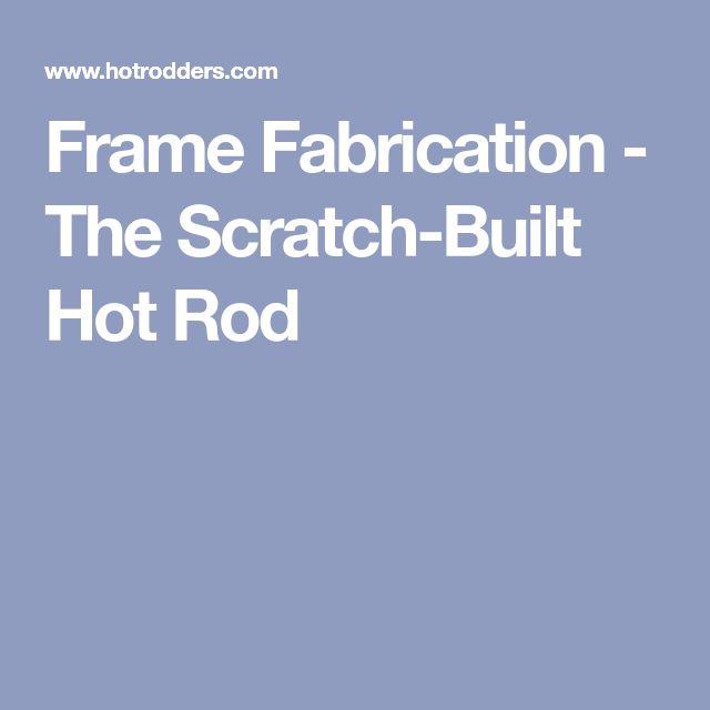 7 best motor truck images on pinterest truck lift kits carriage frame fabrication the scratch built hot rod metal artstreet fandeluxe Images