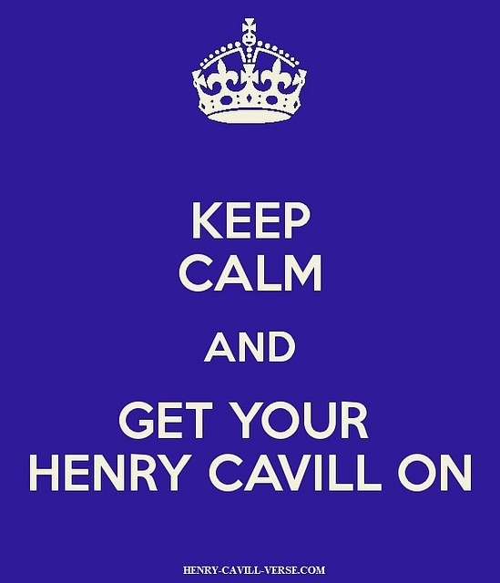 Keep-Calm-and-Get-Your-Henry-Cavill-On by The Henry Cavill Verse, via Flickr