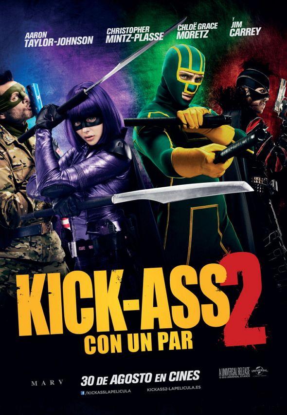 ¿Estamos todos de acuerdo en que 'Kick-Ass' es una película de culto? LO MEJOR  Chloë Grace Moretz  y LO PEOR  que es injustificable.