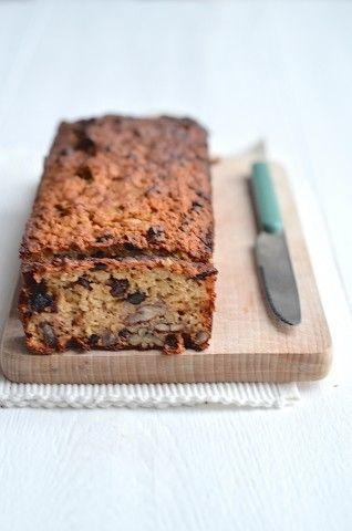 Gezonde appelmoescake - healthy applesauce cake #healtyfood