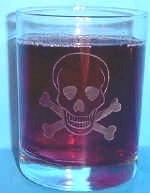 Nautical Bar Glassware Tropical Coastal Bar glasses Ice tea glasses