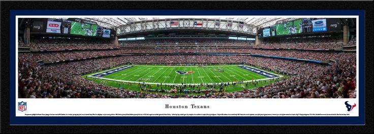 Houston Texans Panoramic Picture - NRG Stadium Panorama - Select Frame $149.95
