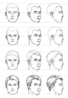 how to draw a human face pdf