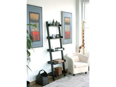 Slanted bookcase