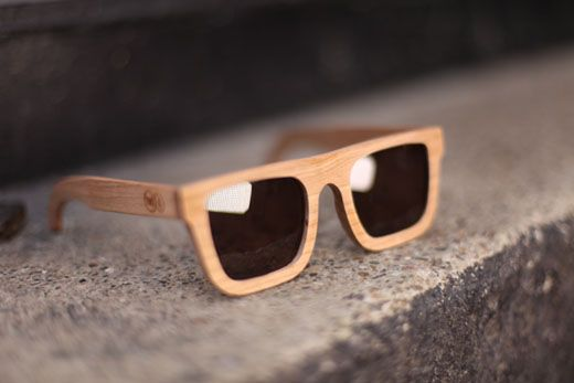 Wooden Sunglasses by TWO-O