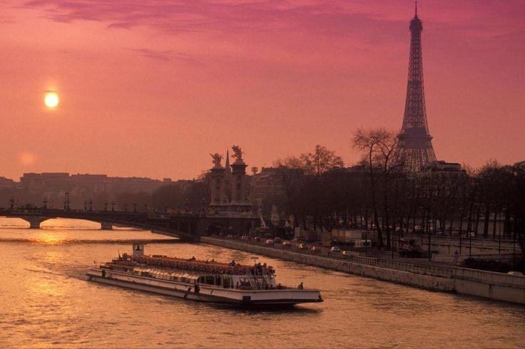Evening Seine River Cruise - Paris, France
