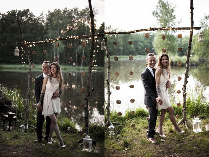 Pomysł na kreatywną sesję ślubną od Heleniakfortuna.com