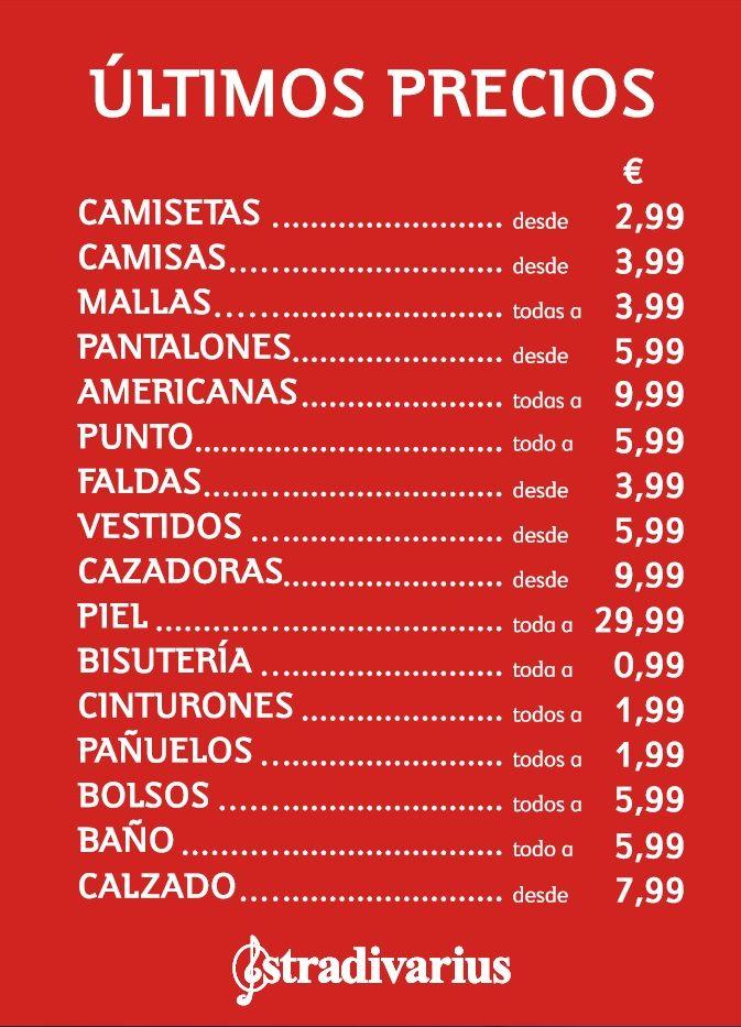 STRADIVARIUS  ¡¡¡Hoy comienzan los últimos precios con descuentos del 50, 60 y hasta el 70%!!! :D Pásate por tu tienda más cercana y descúbrelos por ti mism@ ;)  http://www.stradivarius.com/  #gruponúmero1 #islascanarias #canaryislands #GranCanaria #Tenerife #Fuerteventura #lanzarote #ElHierro #LaGomera #LaPalma #moda #ocio #verano #vacaciones