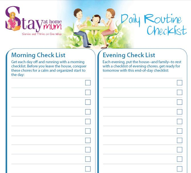 daily routine check