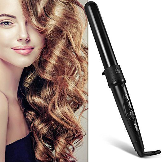 BESTOPE Curling Iron Set Hair Curler Wand 5 in 1 Interchangeable Ceramic Tourmaline Barrels with Heat Protective Glove and Temperature Control Dual Voltage Hair Iron - http://amzn.to/2tT6g02
