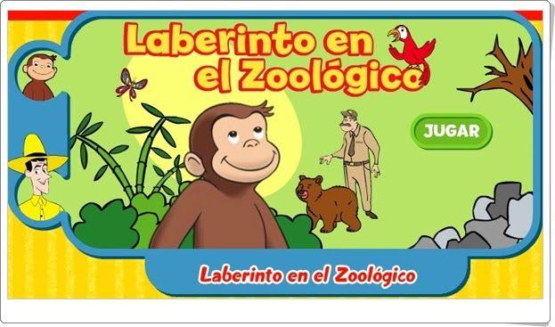 """""""Laberinto en el zoológico"""" (Orientación espacial)"""